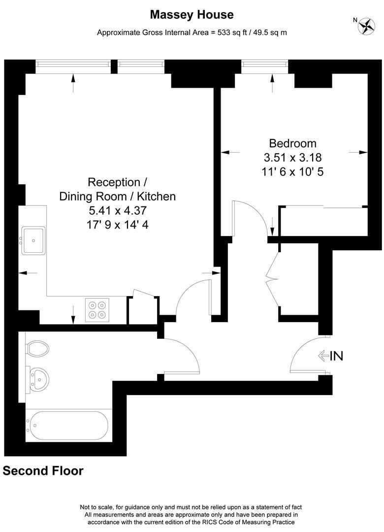 Floorplan for Hartfield Road, Wimbledon